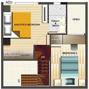 5-Ensuite bedroom with toilet