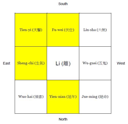 Li Xing-yao map