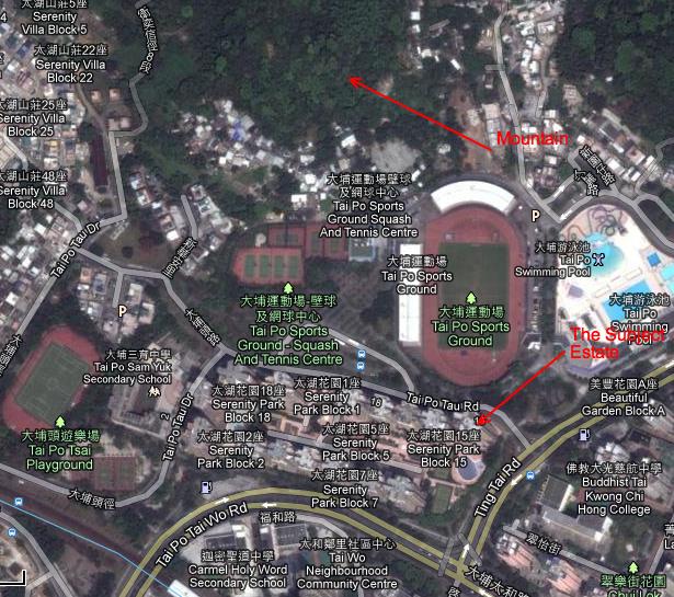 Ba Gua Feng Shui Example - Location Plan