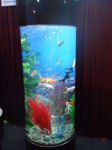 Round Feng Shui Aquarium