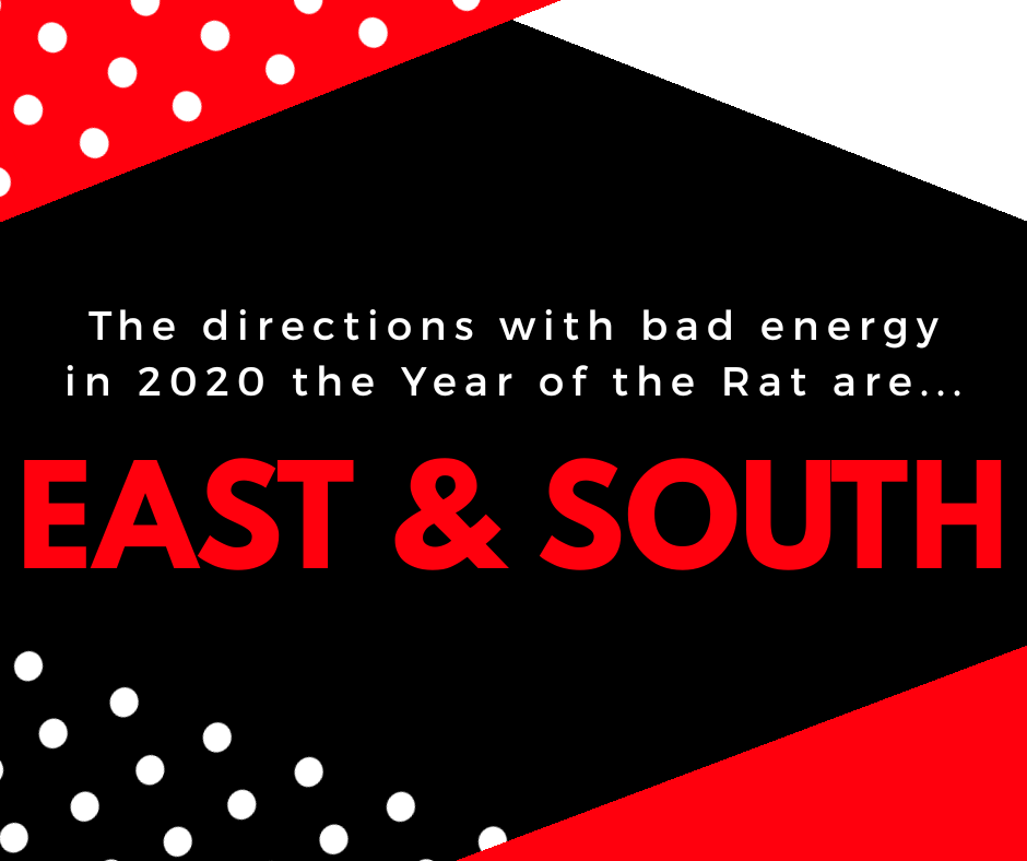 2020 Feng Shui Guide (2) – The Bad Directions